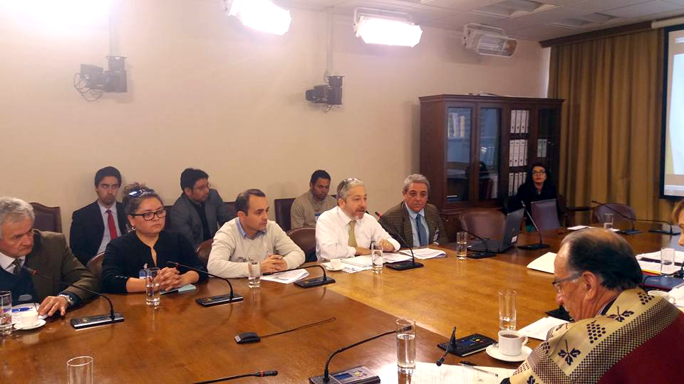 AFSAG Nacional y Regional Valparaíso en Comisión de Agricultura – 13 Septiembre 2016