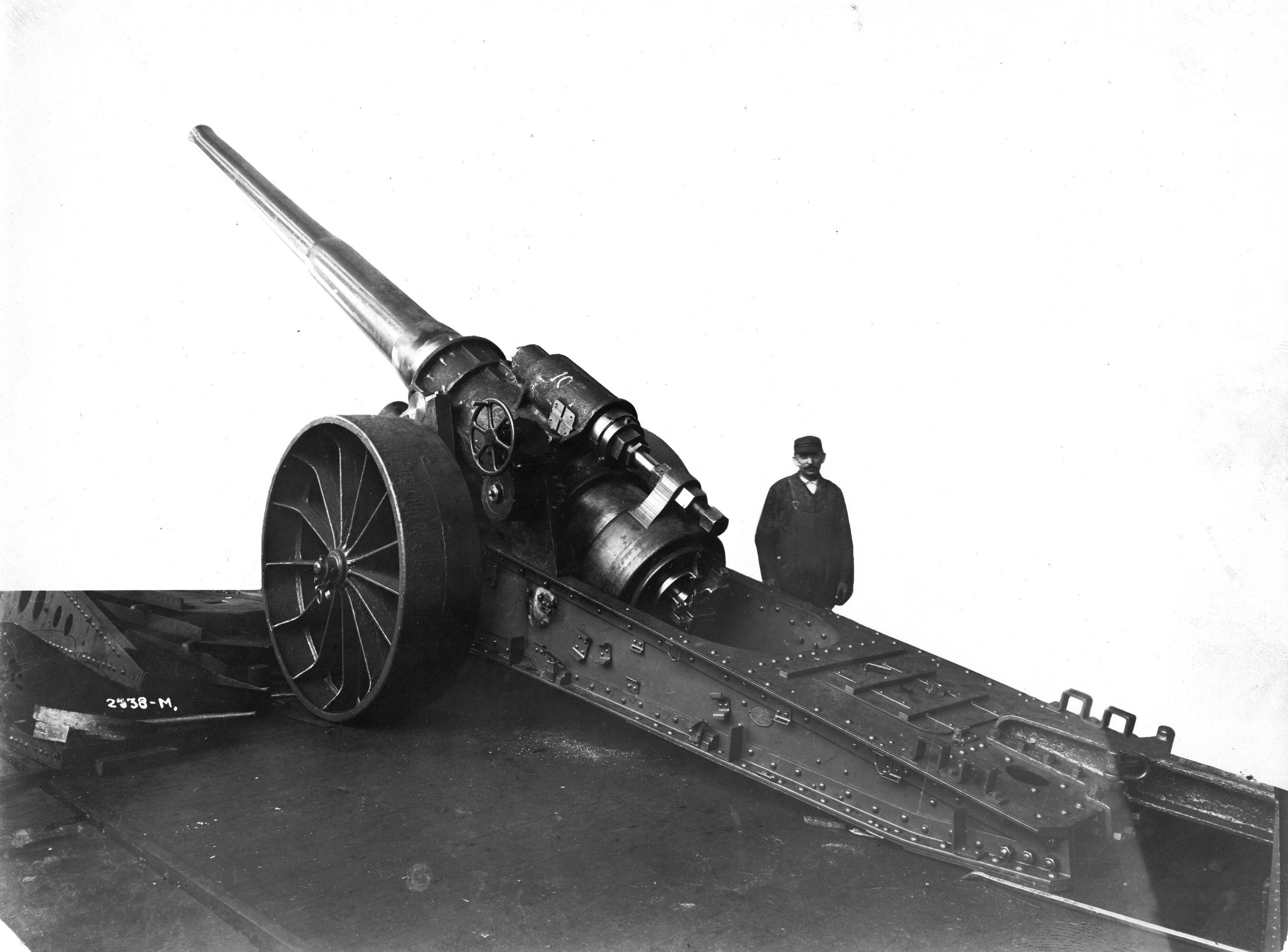 """Morgan 6"""" gun"""