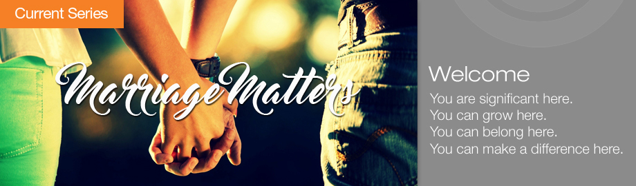 Marriage Matters Homepage