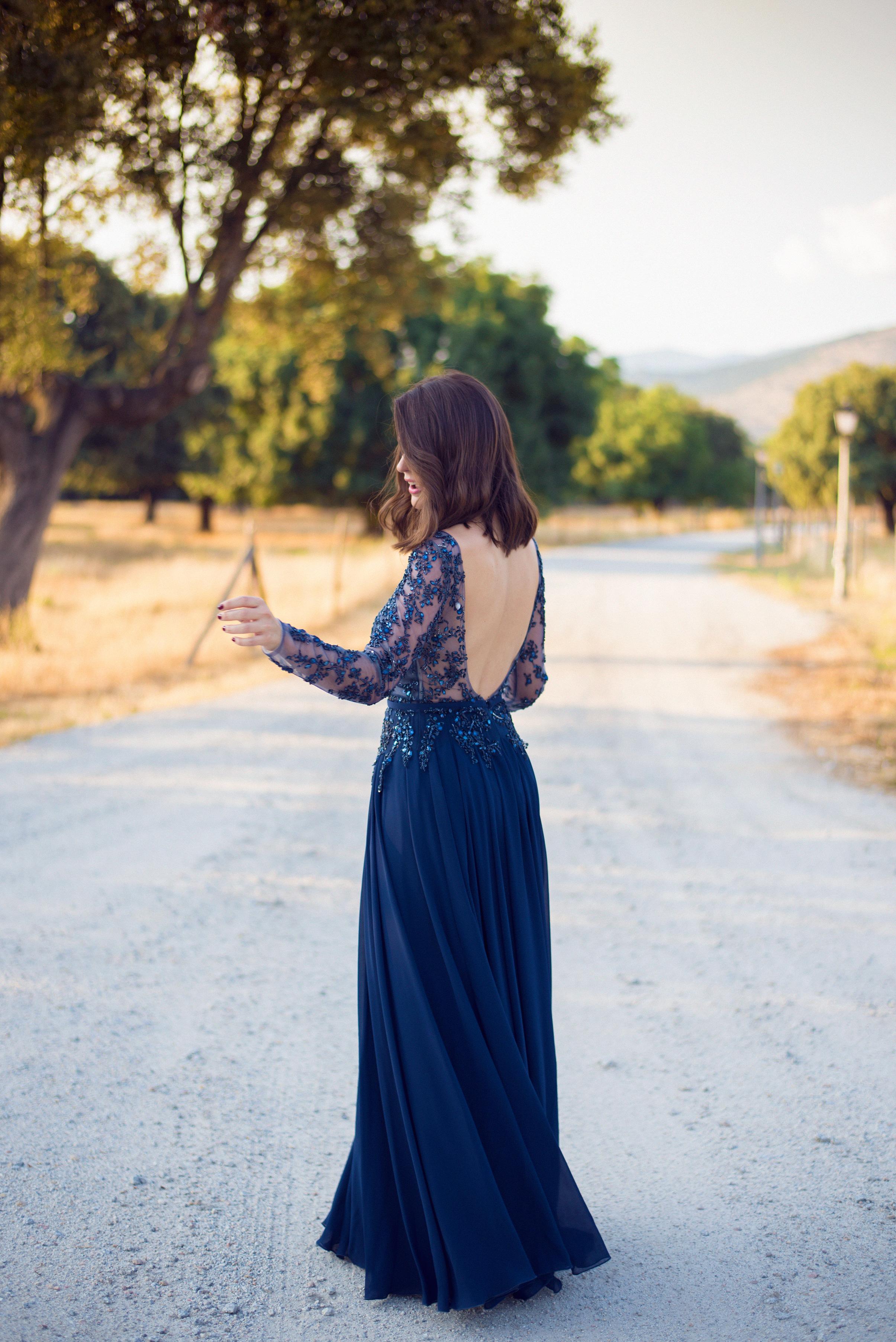vestido de fiesta el tocador vintage