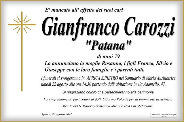 Carozzi Gianfranco