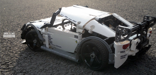 Moc Street Drift Car Lego Technic Mindstorms Model