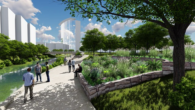 2016 Shoal Creek Trail from Fifth to 15th Streets Renderings