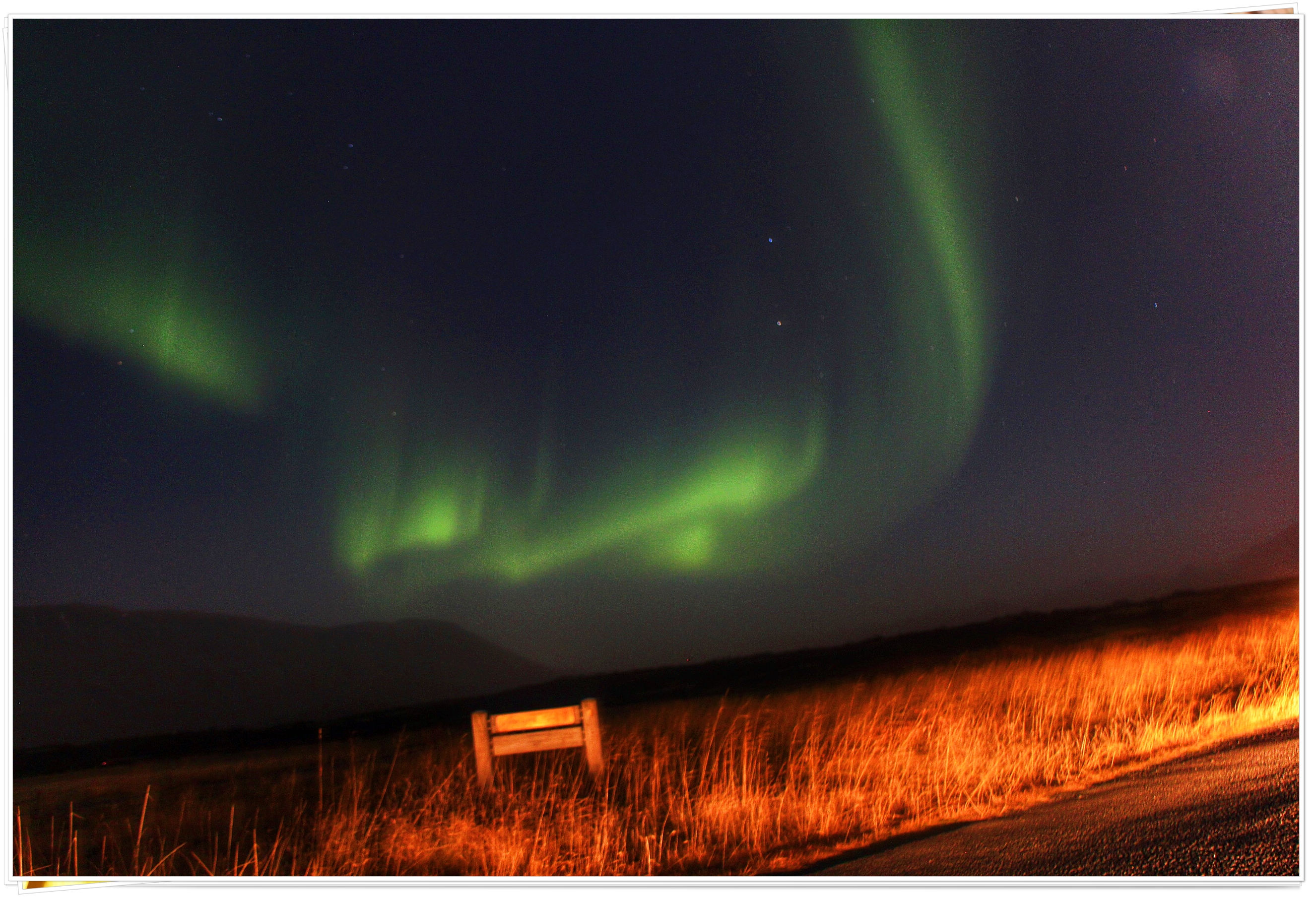 The Northern Light, Reykjavik, Iceland - Nov 2014