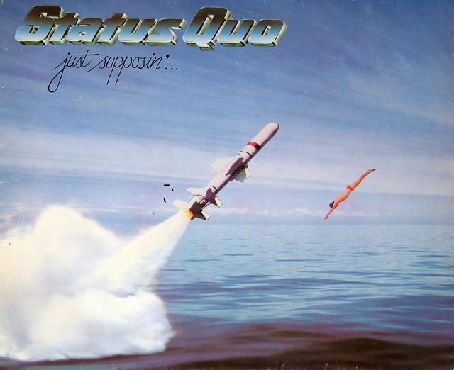"""Status Quo Just Supposin' 12"""" vinyl LP"""