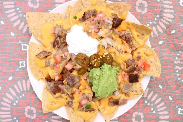 Nachos A La Mexicana #FrijolesConTodo