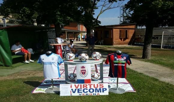 Virtus Verona-Vigasio 2-0: derby ai rossoblu, Alba-Armani gol!