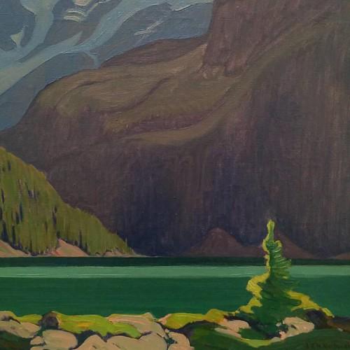 """From Lake O""""Hara, J.E.H. MacDonald #toronto #artgalleryofontario #ago #jehmacdonald"""