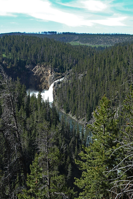 View of Upper Falls