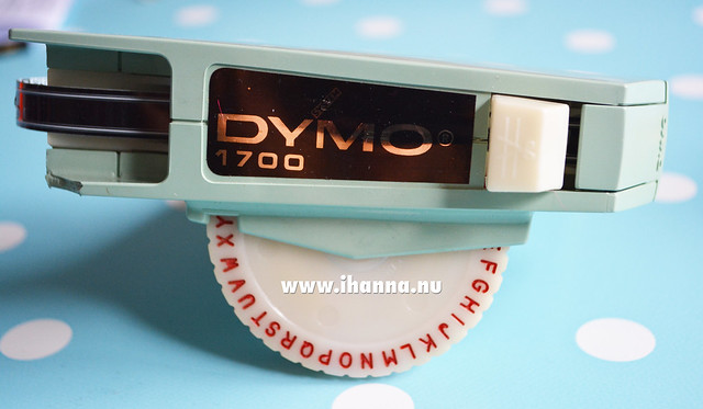 My vintage Dymo label maker