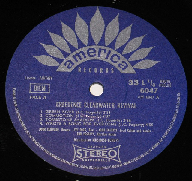 CCR Creedence Clearwater Revival Green River EEC