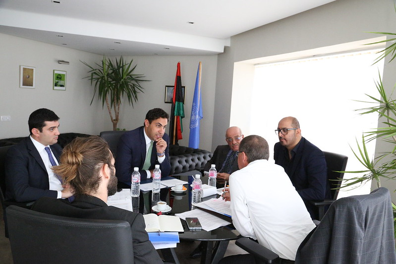Youth Envoy with Libyan Youth