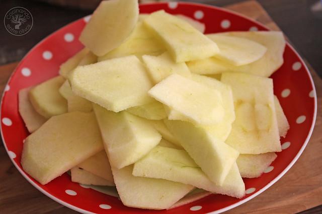 Tarta manzana y pan de molde micrrondas www.cocinandoentreolivos.com (22)
