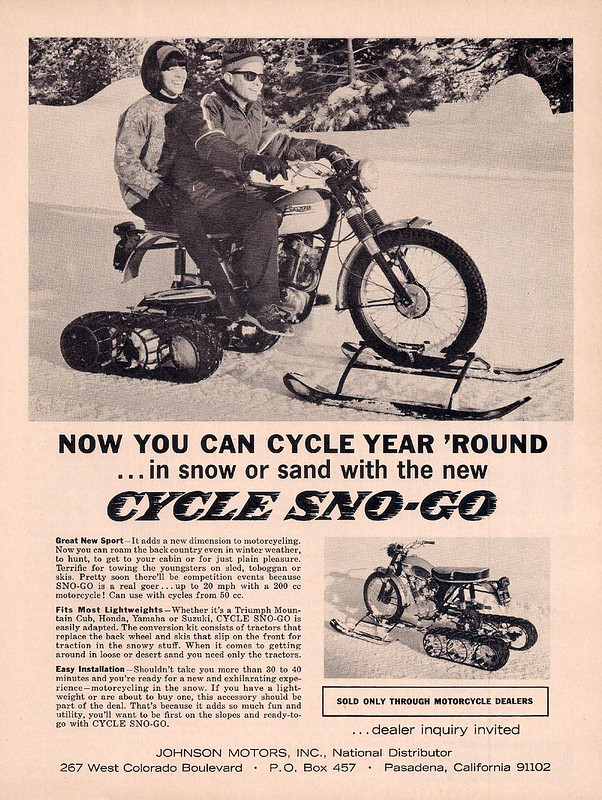 Cycle Sno-Go