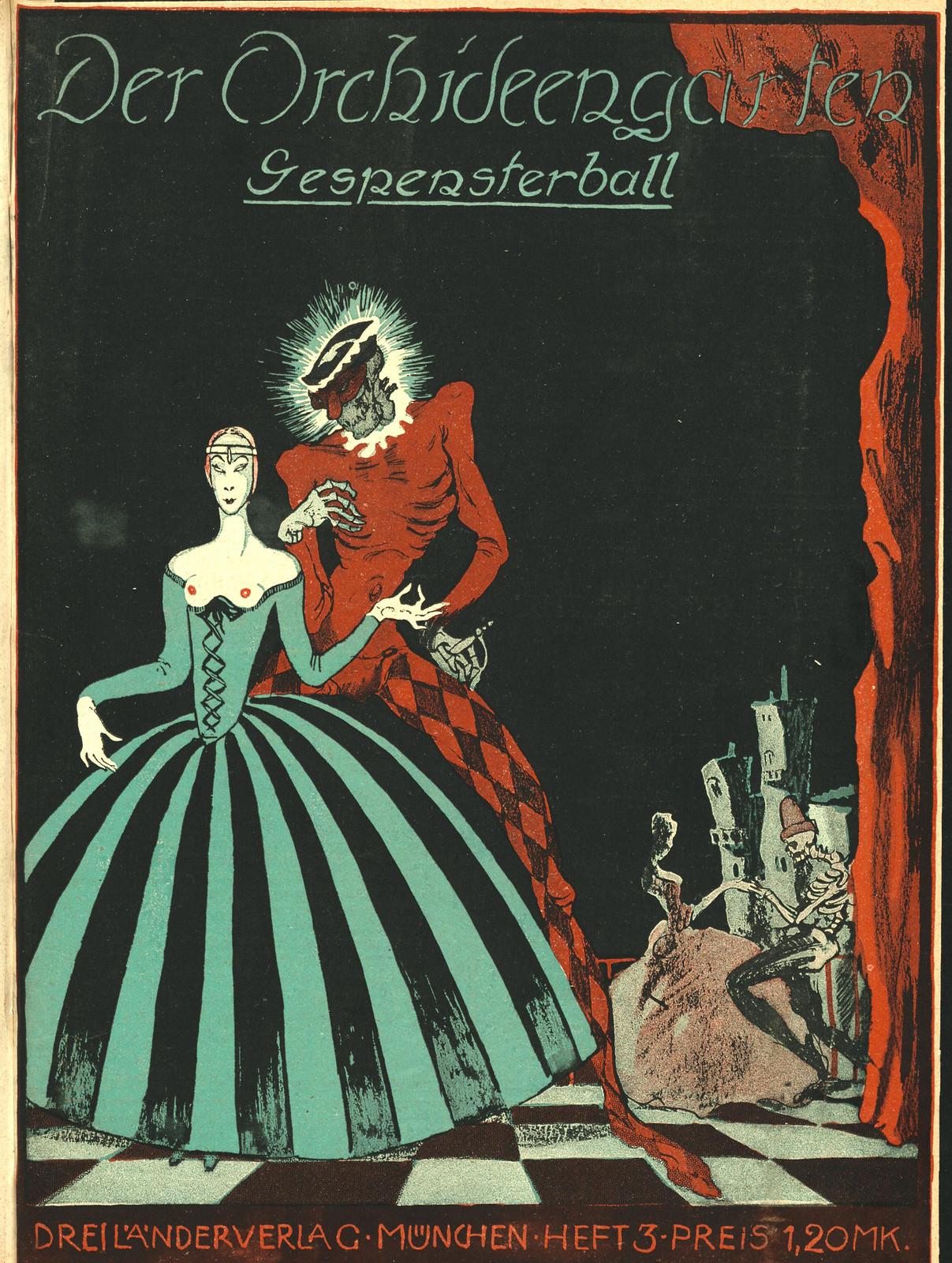 Der Orchideengarten - 1920 (Cover 3)