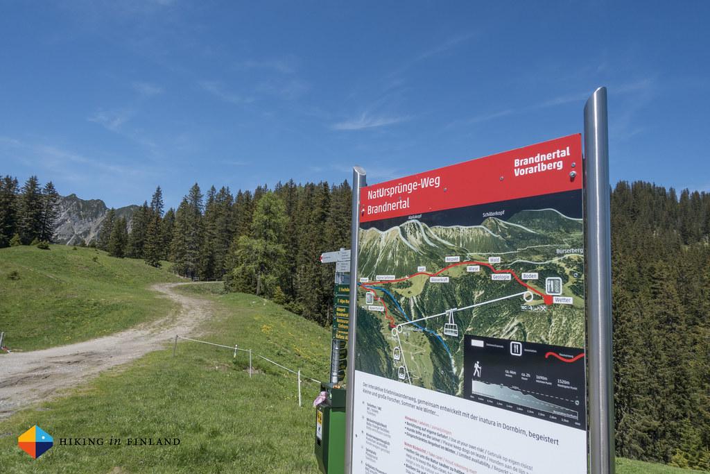 Natursprünge-Weg Brandnertal