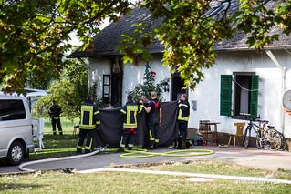 Feuer Asylunterkunft Rüdesheim Aulhausen 1.9.2016