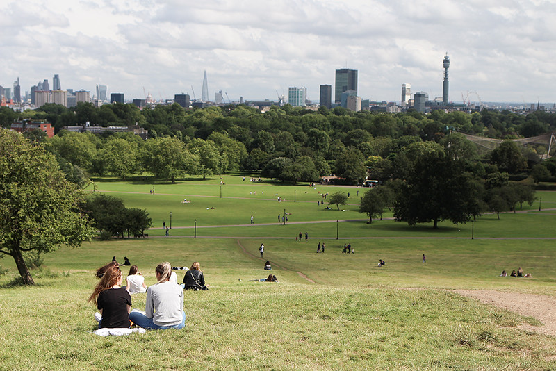 Summer Days in London