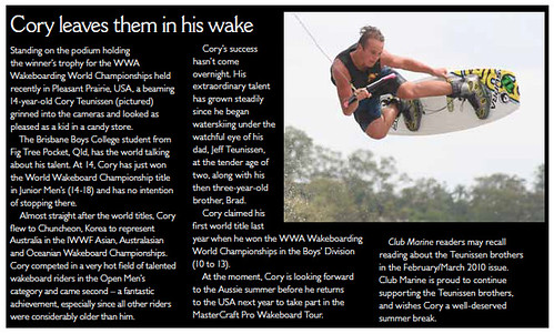 Team Supra's Cory Teunissen Leaves Them in his Wake | by Supra Boats