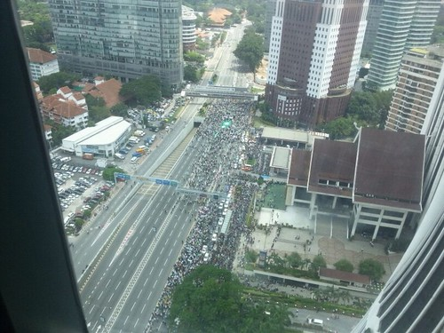Protests in KL today - not deemed illegal? | by byte