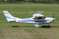 G-ENEA - 1971 build Cessna 182P Skylane, visiting Barton