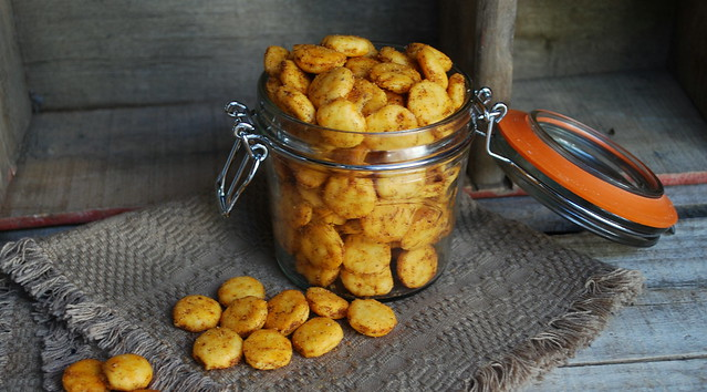 Taco Seasoned Oyster Crackers