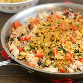 Tex-Mex Chicken and Rice | by Tracey's Culinary Adventures
