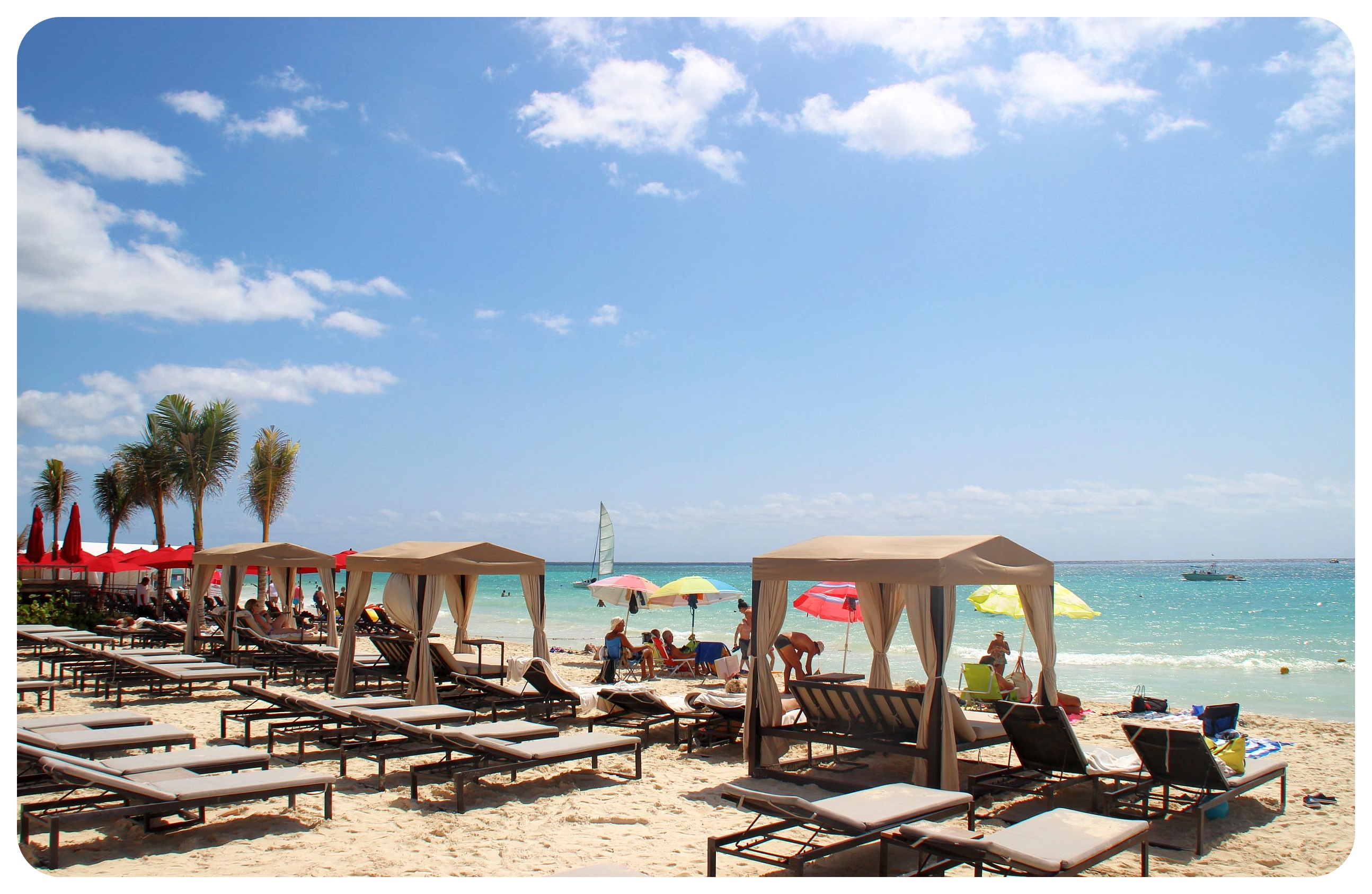 grand hyatt playa del carmen beach