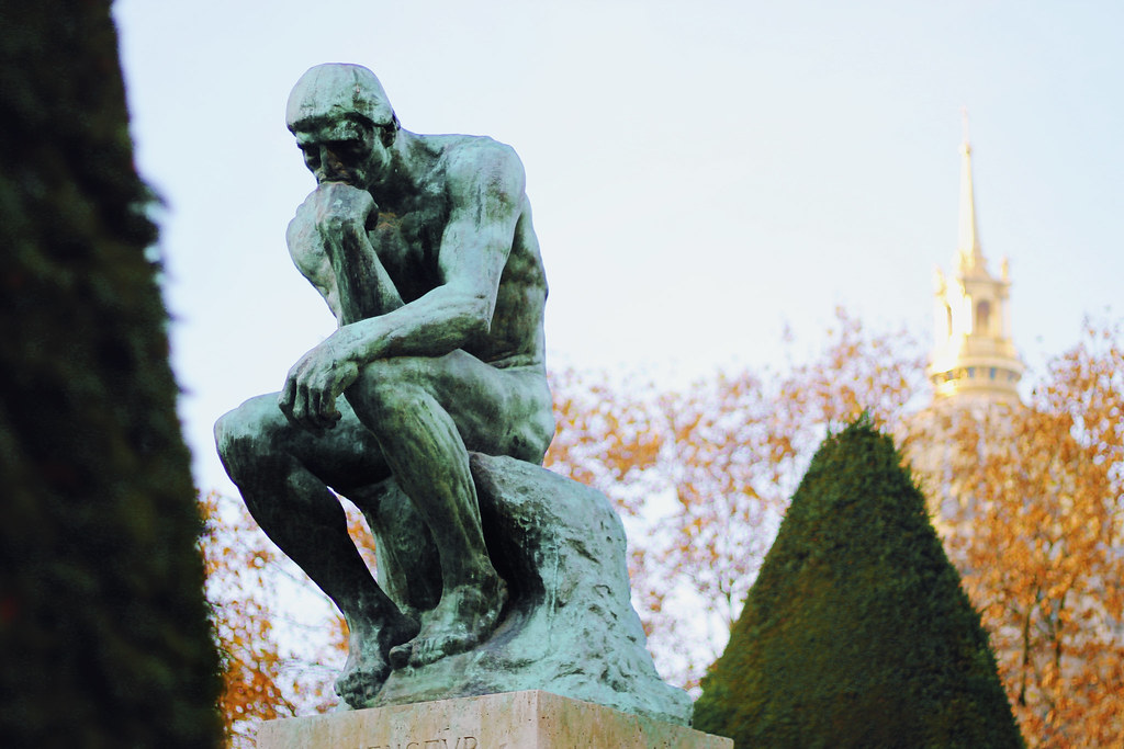 Drawing Dreaming - visitar o Museu Rodin - o Pensador