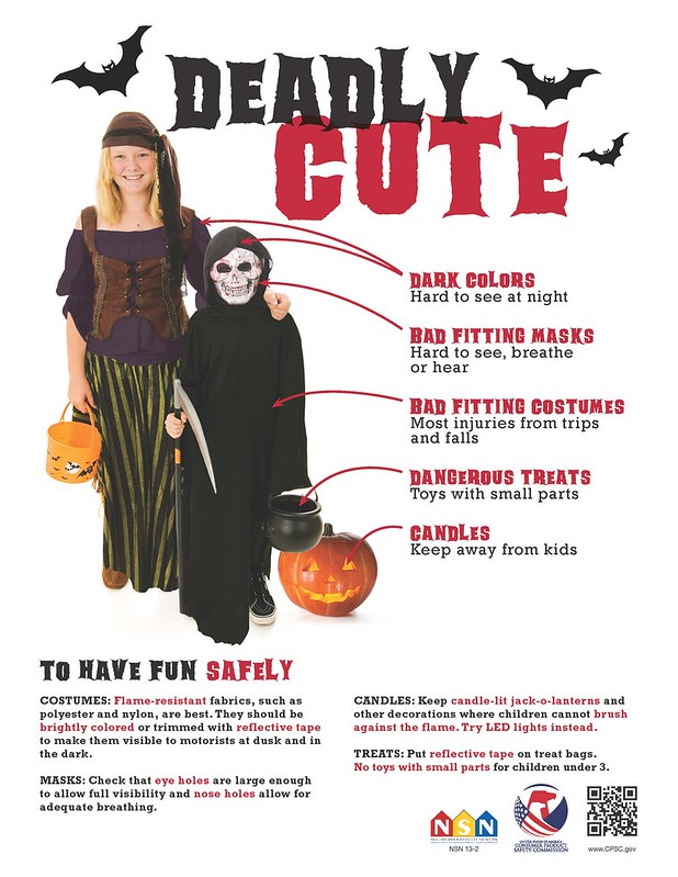 Halloween Safety: Deadly Cute