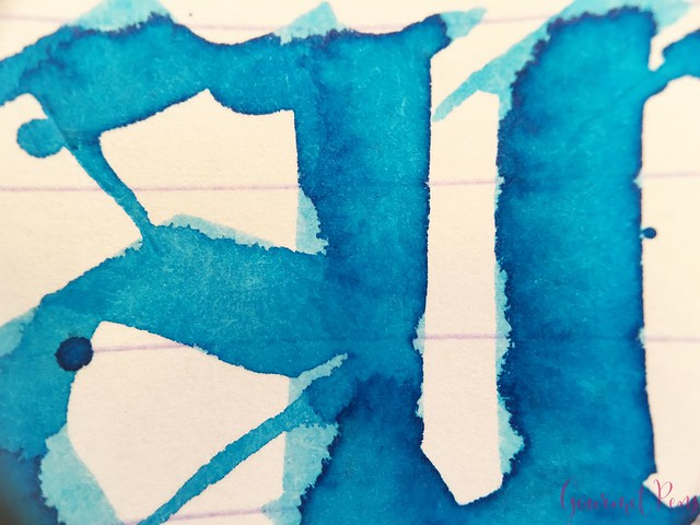 Ink Shot Review Franklin-Christoph Spanish Blue @1901FC 8