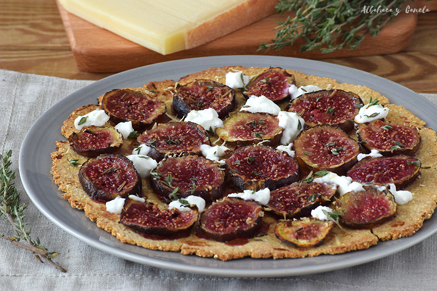 Fig gruyère tart