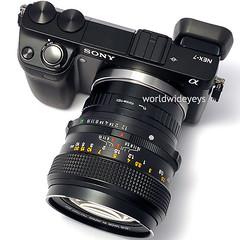 ソニーNEX-7, コニカ ヘキサノンAR 57mm F1.2
