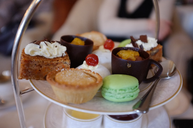 Afternoon tea, the Shelbourne Hotel