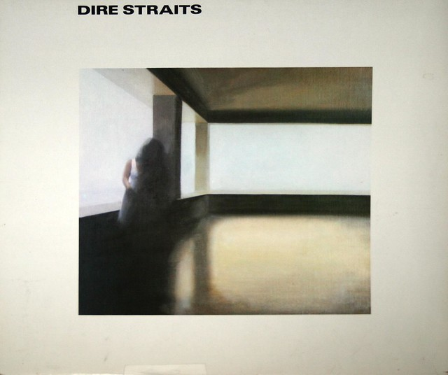 "Dire Straits S/T Self-Titled France 12"" vinyl LP"