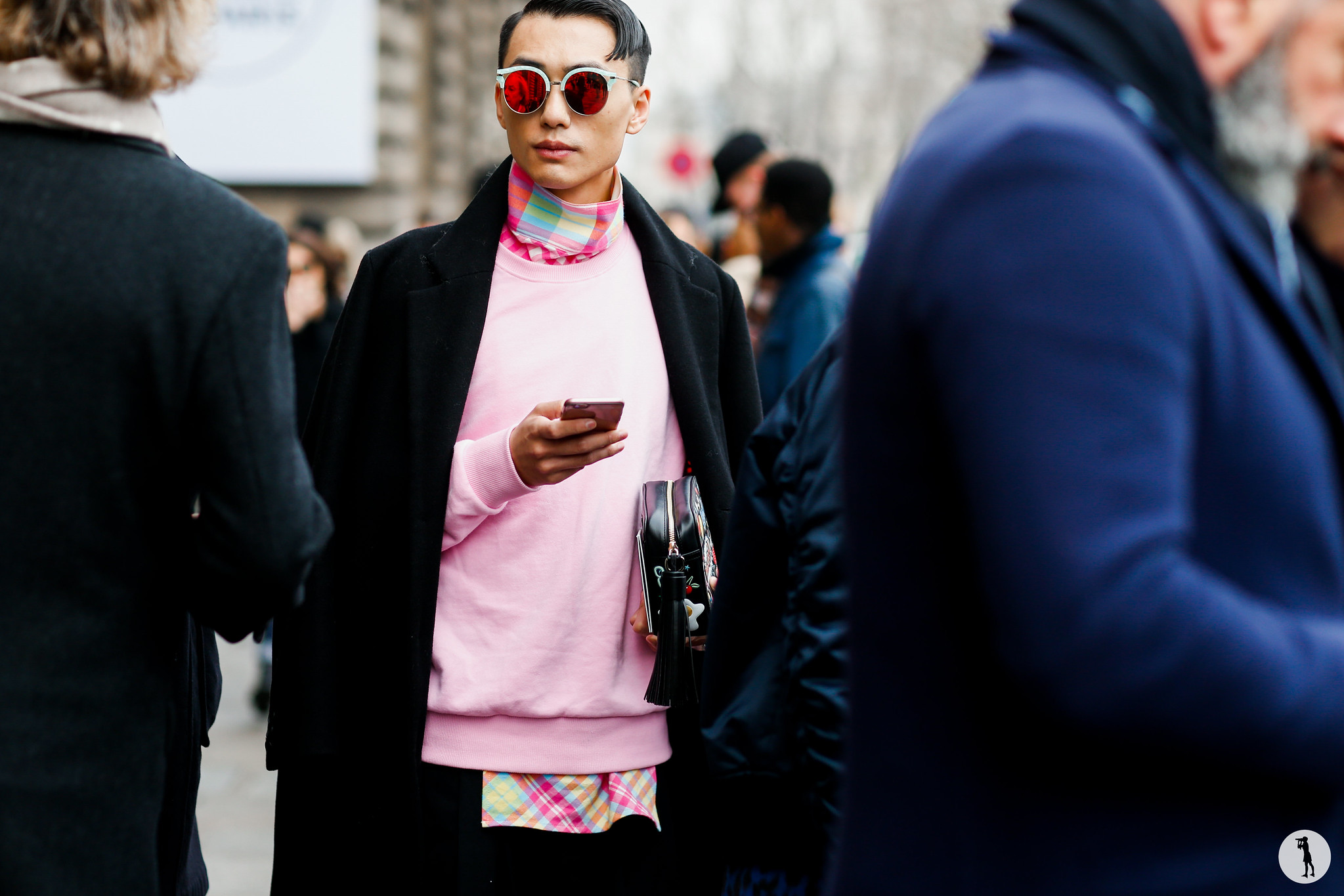 Street style at Paris Fashion Week Menswear-2 3