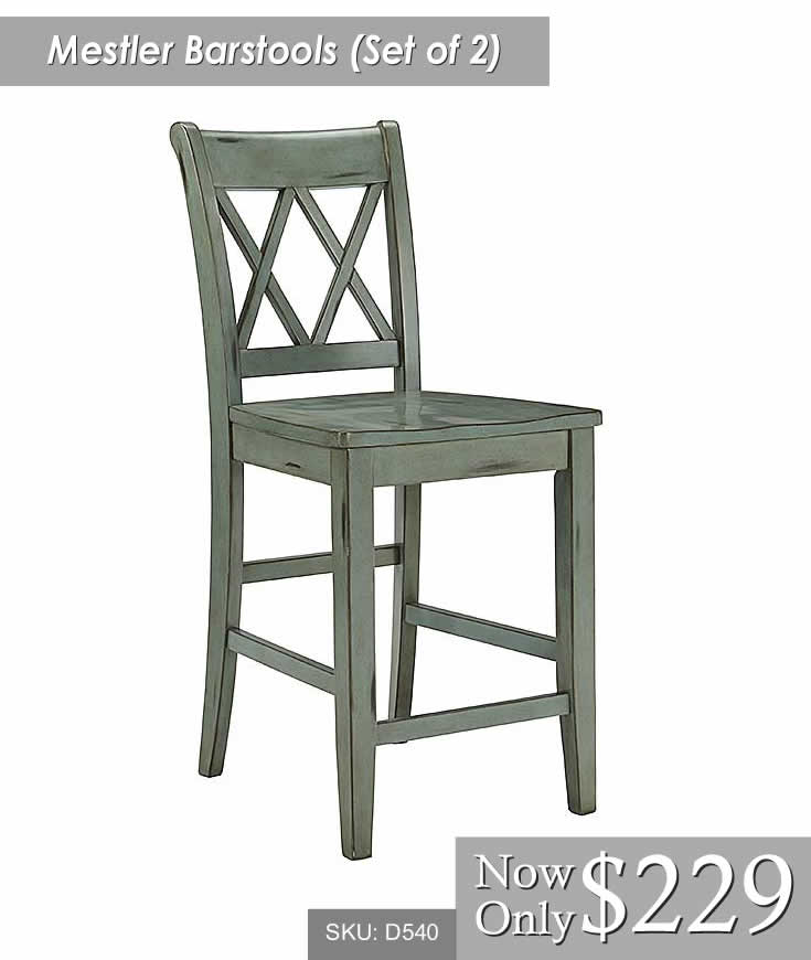 Mestler Barstool Set of 2