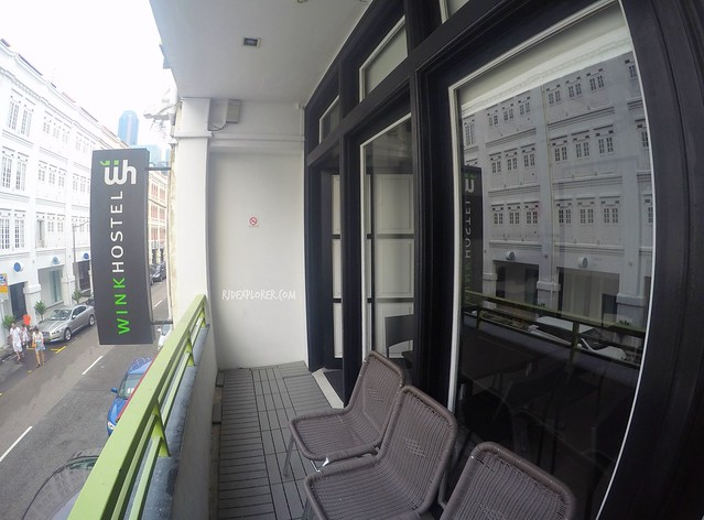 wink hostel balcony