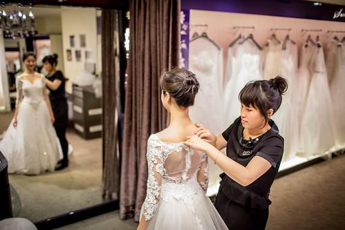 【高雄禮服秘書評價推薦】聖羅雅麗緻婚紗禮服秘書~新娘們的神仙教母 (5)