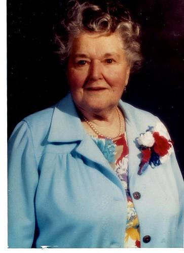 Grandma Bernice Holmgren; October 6, 1906 - October 1, 1994