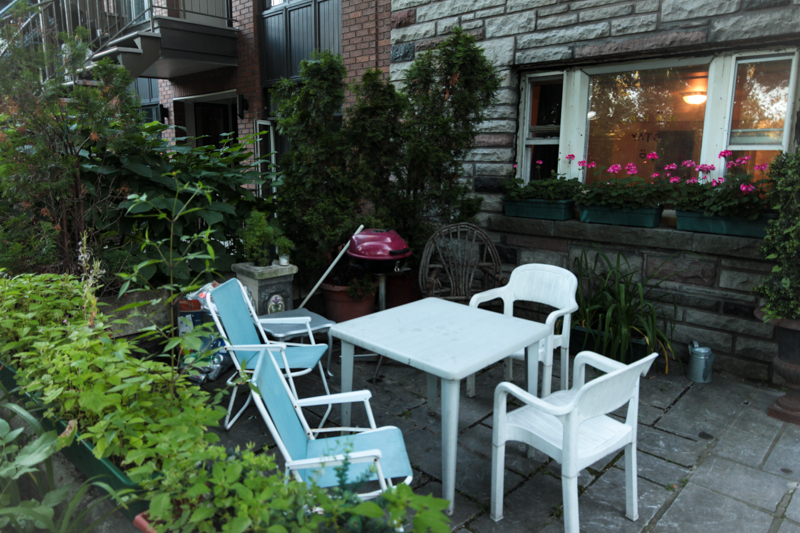 terrasse unterkunft stay in montreal apartment kanada