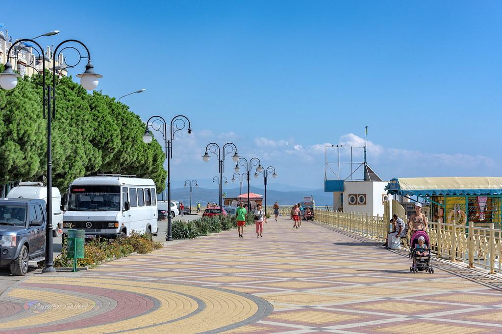 Seafront in Alushta