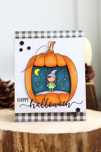 Just Me digi stamps - halloween store