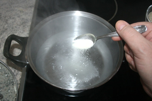 45 - Wasser salzen / Salt water