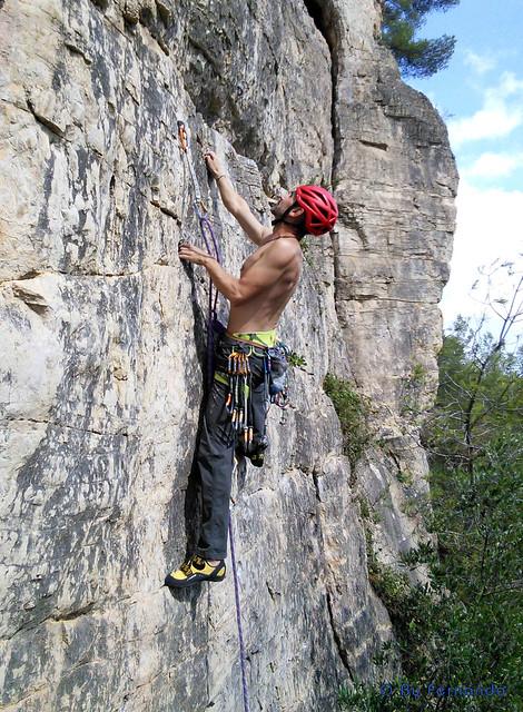 Oskar Linares - 1+1=3, 6a -04- Les Casetes Est, Sector Rototom (25-09-2016)