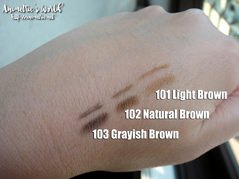 K-Palette Lasting 2 Way Eyebrow Pencil