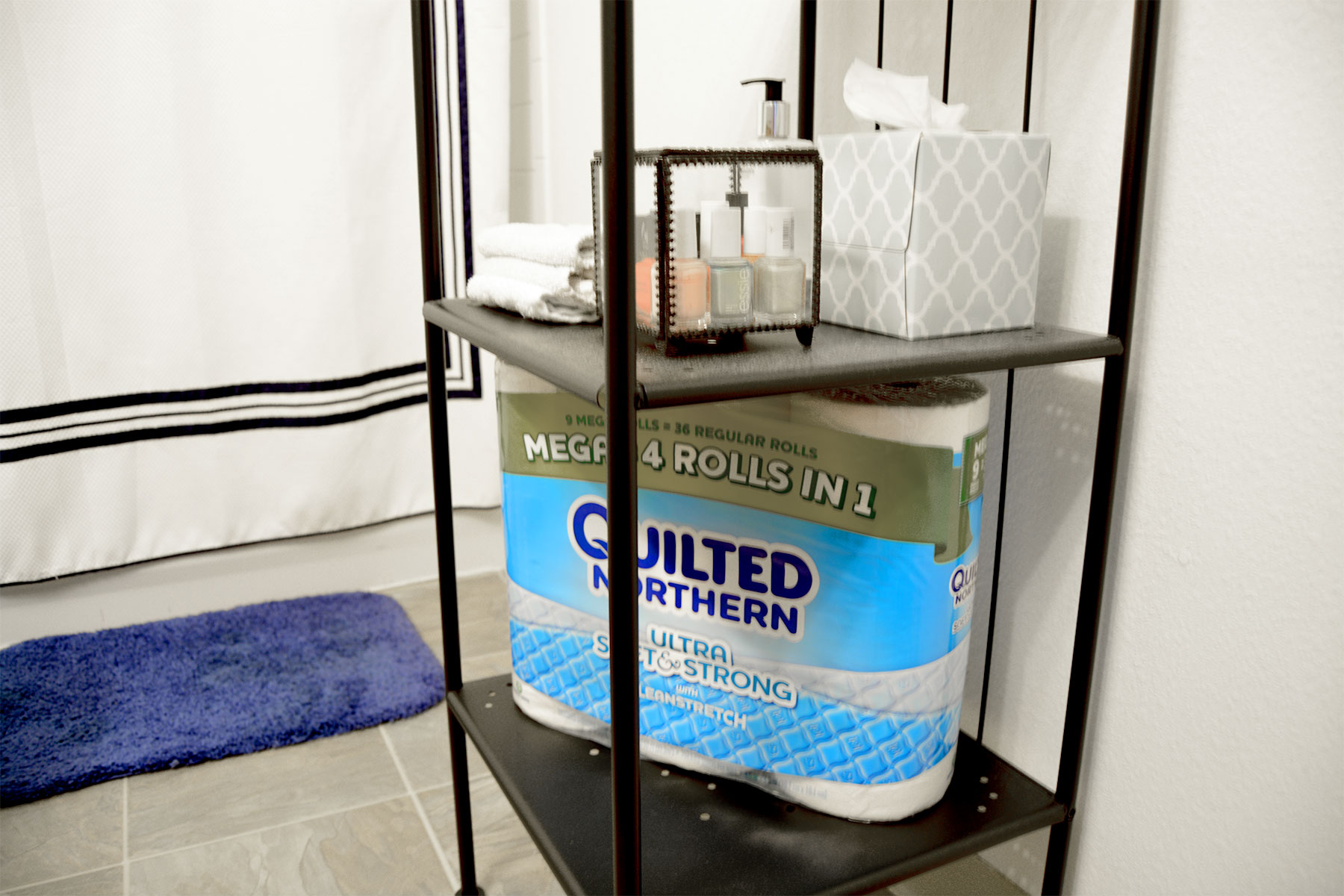 How to Upscale a Rental Bathroom
