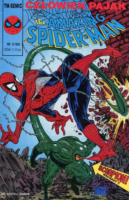comics Tm-Semic Spider-Man 020 1992-02