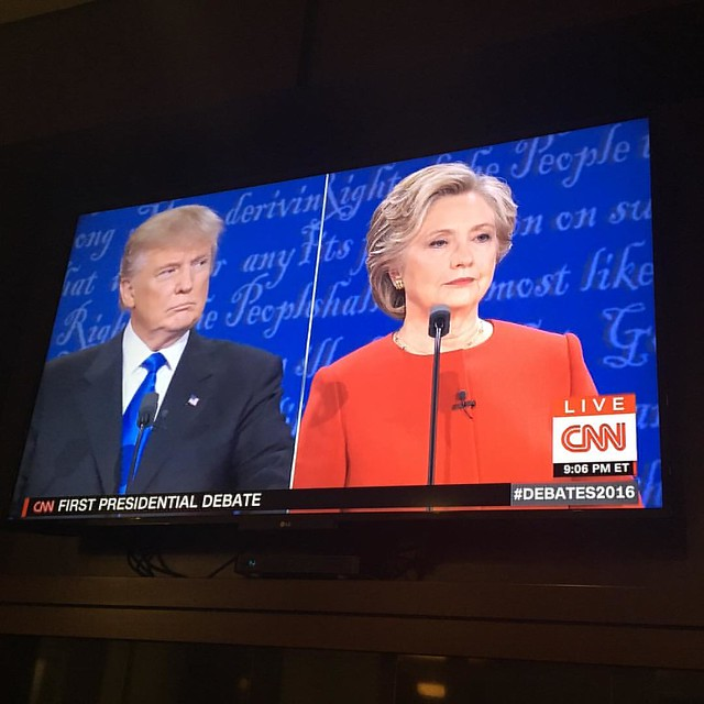 Watching the great debate #debates2016
