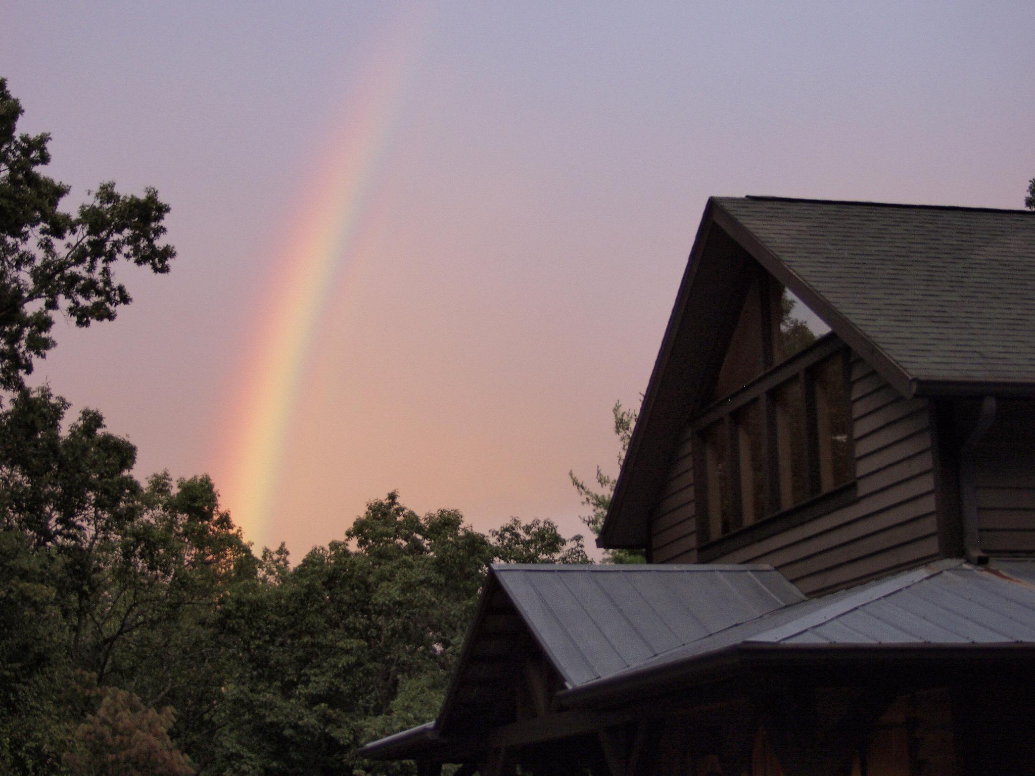 Rainbow at Bent Creek Lodge